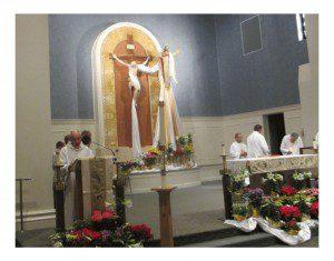 Sanctuary at 2014 Easter Vigil